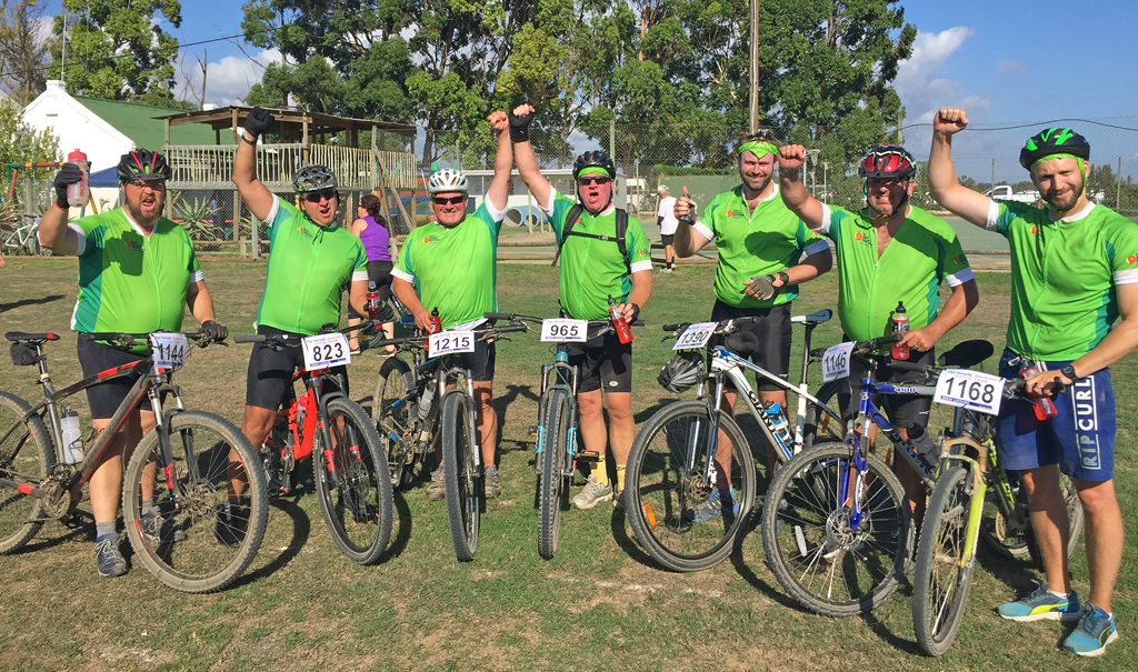 River Bioscience Team take on a cycle challenge